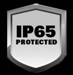 IP65 protected